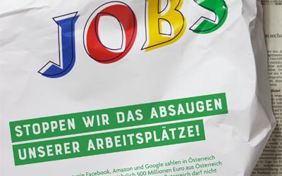 """Steuerfairness.info: """"Absaugen der Wirtschaft stoppen!"""""""